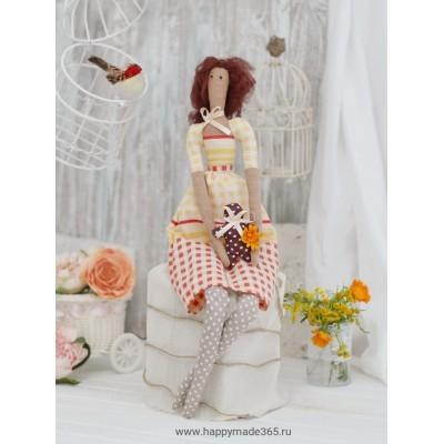 """Ш052 Набор для шитья и рукоделия """"Мадемуазель Сандра"""""""