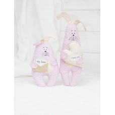 Ш086 Братцы Купидоны-кролики