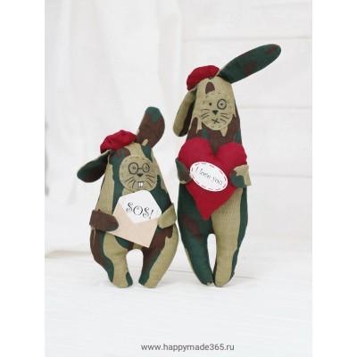 Ш087 Братцы Защитники-кролики