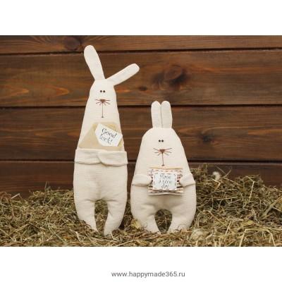 """Набор для шитья №1 """"Братцы Кролики"""""""