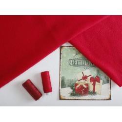 Флис красный