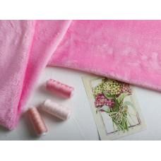 Плюш, розовый