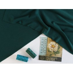 Трикотаж Баритон, елово-зеленый