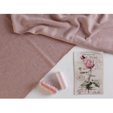 Трикотаж вязаный, чайная роза