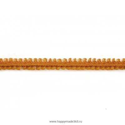 Шнур отделочный д.0,5 см рыжий