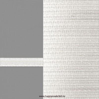 Лента атласная 3 мм (белый)