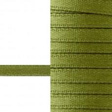 Лента атласная 3 мм (зеленый)