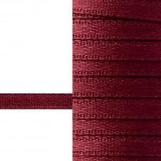 Лента атласная 3 мм (бордовый)