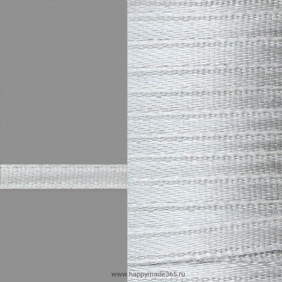 Лента атласная 3 мм (серый)