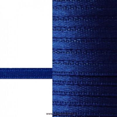 Лента атласная 3 мм (синий)