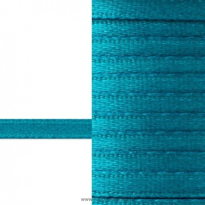 Лента атласная 3 мм (бирюзовый)