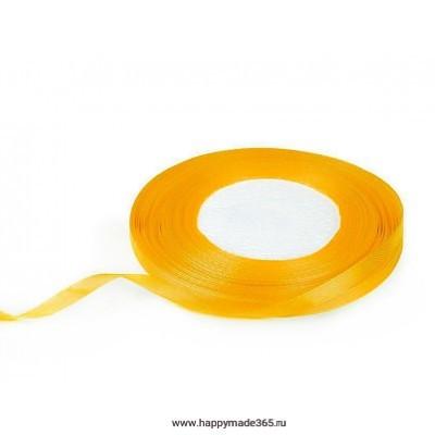 Лента атласная 6 мм (ярко-желтый)