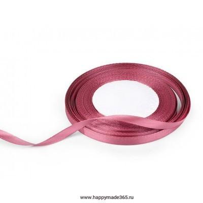 Лента атласная 6 мм (розовый)