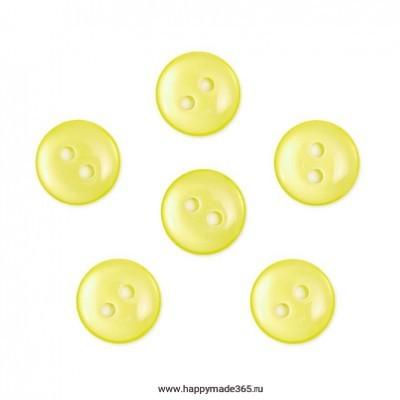 Пуговицы перламутровые (светло-желтый/col.46)