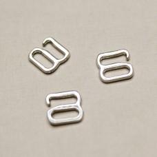 Крючек (светлое серебро), 8х8 мм