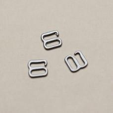 Крючек (темное серебро), 8х8 мм