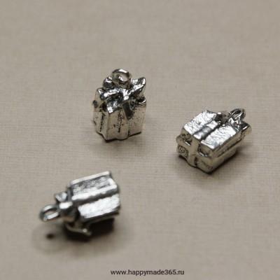 Подарок (серебро), 17х7 мм