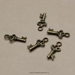 Ключик (бронза), 15х7 мм